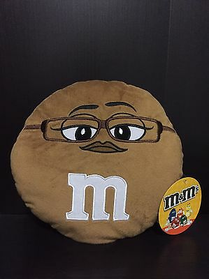 """Brown M&M plush Toy Factory 9"""" tall NWT New With Tags! FREE SHIPPING"""