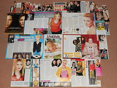 30+ CATE BLANCHETT Magazine Clippings (A)