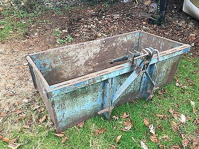 Tipping Tractor Transport Box 4 ft