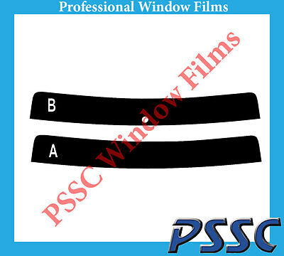 PSSC Pre Cut Front Car Window Films for VW Caddy Maxi 2008 to 2010 50/% Light smoke Tint