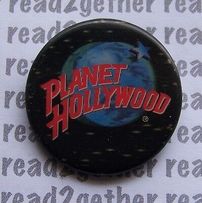 Planet Hollywood Lenticular 3D Button
