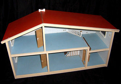 Rare Vintage 1960's/1970 Early Lundby Sweden Gothenburg Dolls House