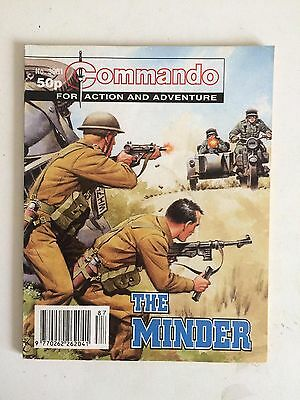 Commando Comic, The Minder , Issue 3001, Nov 1996, 20 Years Old, Rare