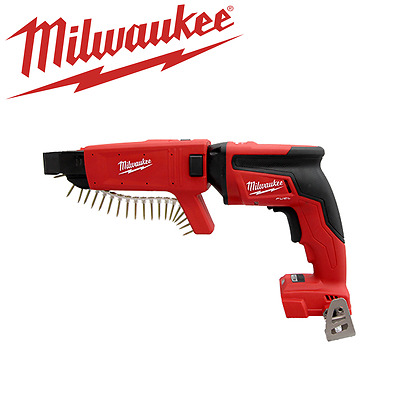 Milwaukee - 18 V Drywall Cordless Collated Screw Gun - M18FSGC0C - Tool Only