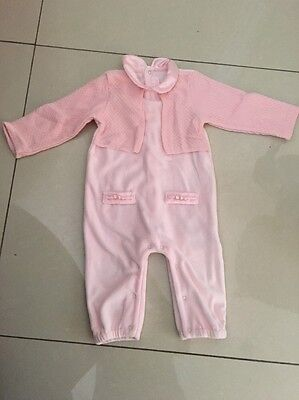 Mayoral Baby Girls Bay Pink Suit 6-9 Months