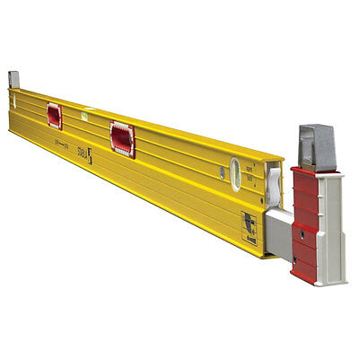 7 ft To 12 ft Plate Level Type 106T Open Box Stabila 35712
