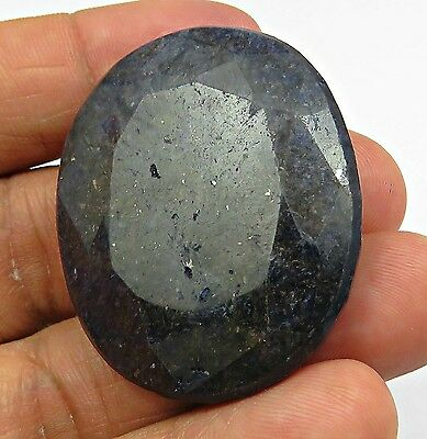 181 Cts Natural Huge Sapphire Pendant Size Top Blue Gemstone Oval Cut