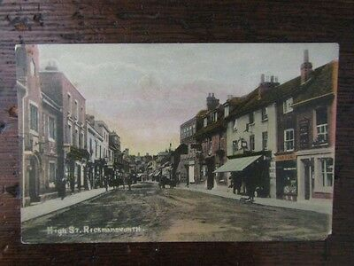 Early Postcard - High Street, Rickmansworth, Herts