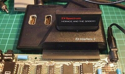 Sinclair ZX Spectrum Interface 2 for Joysticks / Rom Cartridges. Boxed, Tested