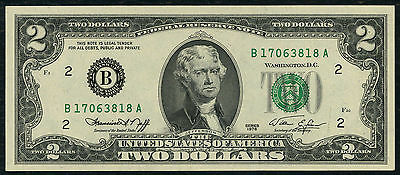 Usa  -  Two  Dollar  Banknote