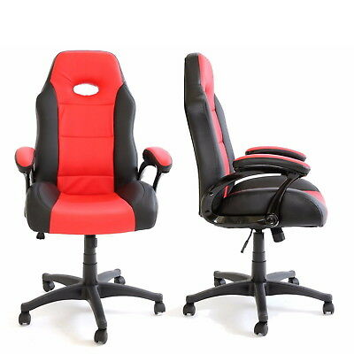 Luxury Racing Sports Gaming Recliner Office Chair High Back Swivel Computer Seat
