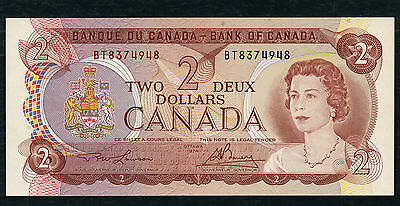 Canada  -  Two  Dollar  Banknote