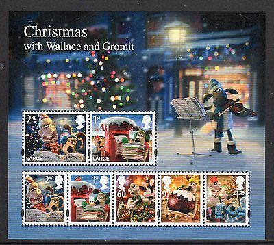 GB - MINT  Minisheet - Christmas 2010 ()Wallace & Gromit).