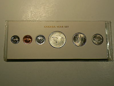 Canada, 1967 Year Set,  All Coins Are MINT STATE #2854