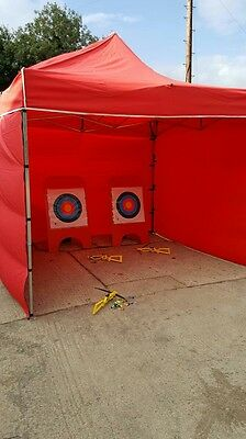 bullseye game in small maqrue bouncy castle add on