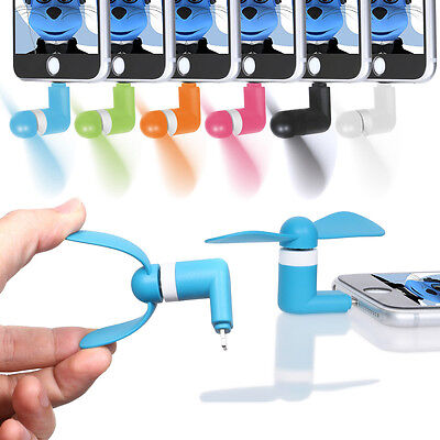 Mini Fan with Micro USB and IOS Connector For Huawei Ascend G300
