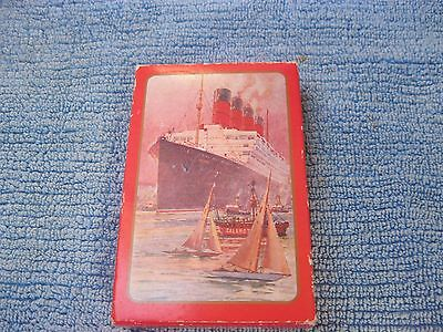 Cunard White Star Liner Playing Cards