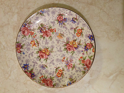 Vintage Royal Winton Chintz Eleanor Pattern Small Pin or Mint Dish