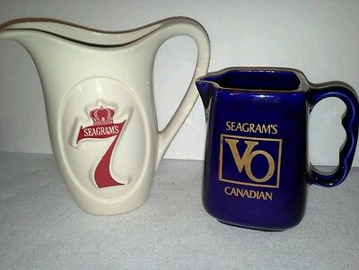 Seagram's 7 and Seagram's VO Canadian Decorative Ceramic Pictures