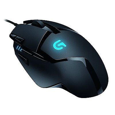 Logitech G402 Hyperion Fury FPS Gaming Mouse 910-004067