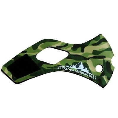 Elevation Training Mask 2.0 Jungle Camo Sleeve (Green)