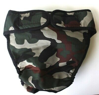 USA SELLER Reusable Dog Diaper Camouflage CAMO Female LARGE Big Dog size L, XL