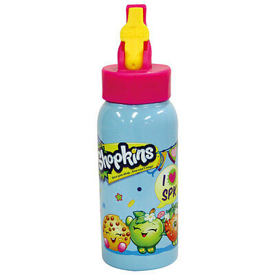 Shopkins Stainless Steel Drink Bottle 473ml