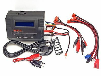 iMAX B680AC CAR 6A80W ACDC LiPo Battery Charger Traxxas Deans EC3 Redcat TURNIGY
