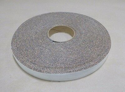 """Cork And Rubber Stripping Strip Adhesive 100' Long , 1/16"""" Thick , 1"""" Wide"""