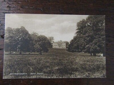 Early Postcard - Park House, Rickmansworth, Herts.