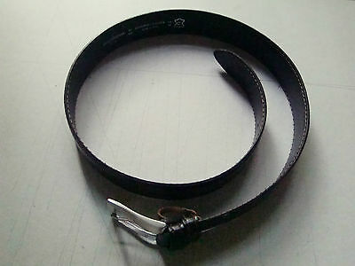 Leather Belt Brown Made in Italy by Asole & Bottoni