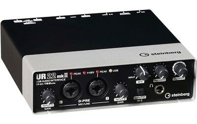 Steinberg UR22 mkII USB Audio Interface incl. MIDI I/O