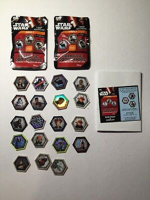 Disney Starwars Galactic Connexions Trading Discs Game. THE FORCE AWAKENS