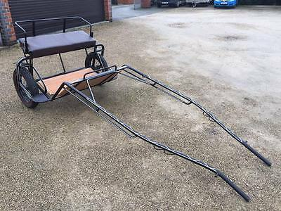 Horse Drawn Excersize Cart / 3 Seater / To Fit From 13.2 Hh To 15.2 Hh Horses.