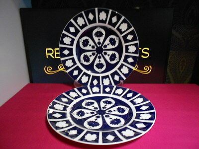 2 X Royal Crown Derby Unfinished Imari 1128 Dinner Plates 6 Sets Available