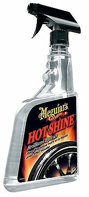 Meguiar's Hot Shine HIGH GLOSS TIRE SPRAY Deep Black Wet Highly Water-Resistant