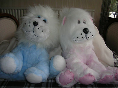 Brand New 40cm Lion, supper soft plush body, long fur mane - Job Lot of 6
