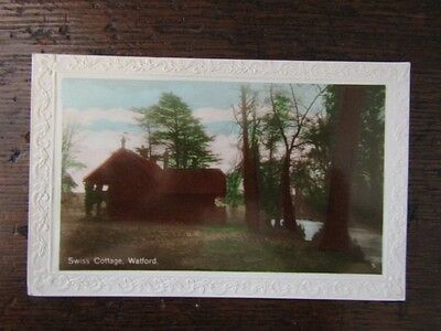 Early RPPC Postcard - Swiss Cottage, Watford, Herts.
