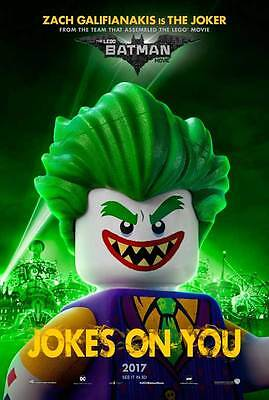 """THE LEGO BATMAN MOVIE Poster [Licensed-NEW-USA] 27x40"""" Theater Size (Joker) 2017"""