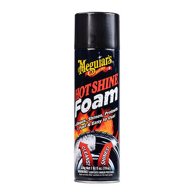 Meguiar's Hot Shine REFLECT TIRE SHINE COATING Deep Black Wet Look HQ Protectant