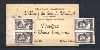 (937258) Complete Booklet (incl.10 stamps), Belgium