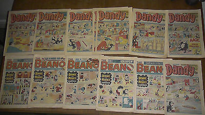 Collection of Thirteen Beano and Dandy Comics 1978