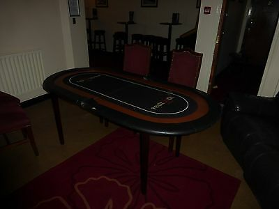 Large Used Proffesional Pub/hotel/club Poker Table Collecton Sheffield