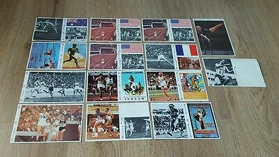 Esso Promotional Olympic Games  Stickers Vintage Retro