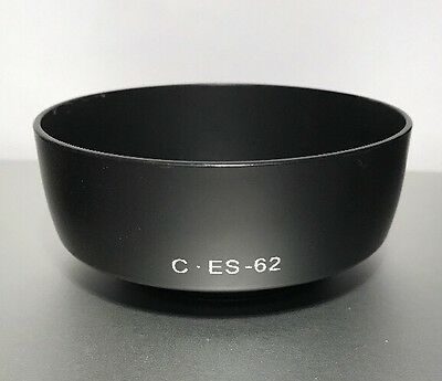 Fotodiox ES-62 Screw-in (52mm) Lens Hood Shade For Canon EF 50mm f/1.8 II