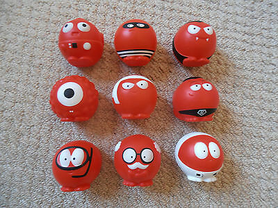 Comic Relief 2015 Red Nose x 9 - The Full Complete Set from last time !!