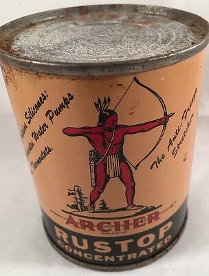 Indian Native Archer Rustop 8oz Oil Can