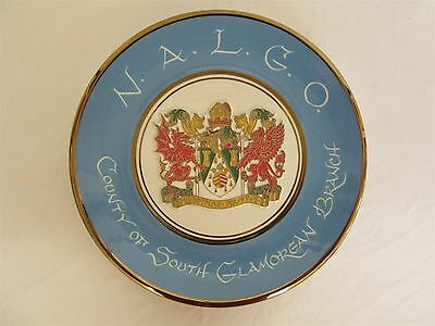 N.A.L.G.O. County of South Glamorgan Branch - Commemorative plate