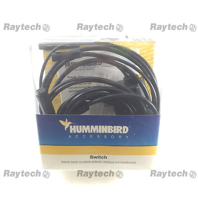 Humminbird TS1-WS-3D selector switch 2 transducers 1 Fishfinder 720005-1