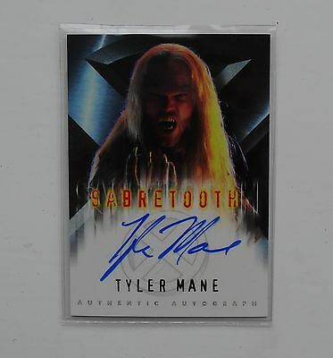 X-Men The Movie Autograph Card Tyler Mane as Sabretooth